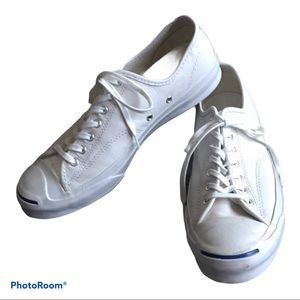 Jack Purcell Converse white Leather Sneakers 11